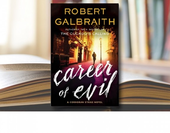 career of evil book cover