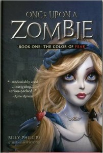once upon a zombie book cover